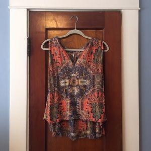 Free People sleeveless blouse